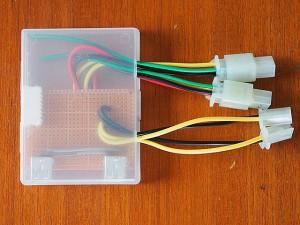 直流化計画分電盤:出力プラグ