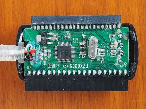 USB-SATA変換コネクタ FZX6005 中身・基盤側