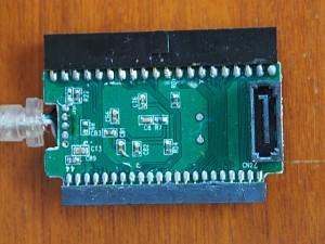 USB-SATA変換コネクタ FZX6005 中身・コネクタ側