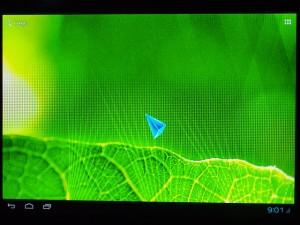 アンドロイドミニPC デスクトップ画面
