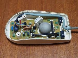 マイクロソフトマウス ボール部分