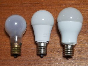 ミニクリプトン電球-LED電球40W-LED電球60W