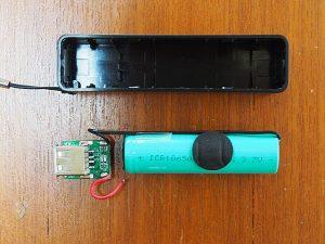 ダイソーのモバイルバッテリーを分解