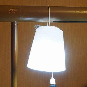 昼白色電球型LEDライト