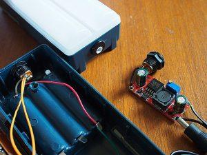 12SMDライト 外部電源化