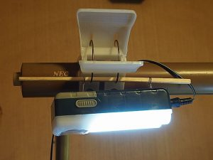 12SMDライト デスクライト改造