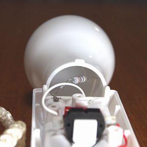 SMD電球ペンダントライト + COB基板 内部