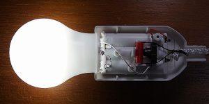 SMD電球ペンダントライト + COB基板 完成外観